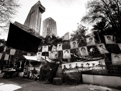 Memorial for 43 missing students