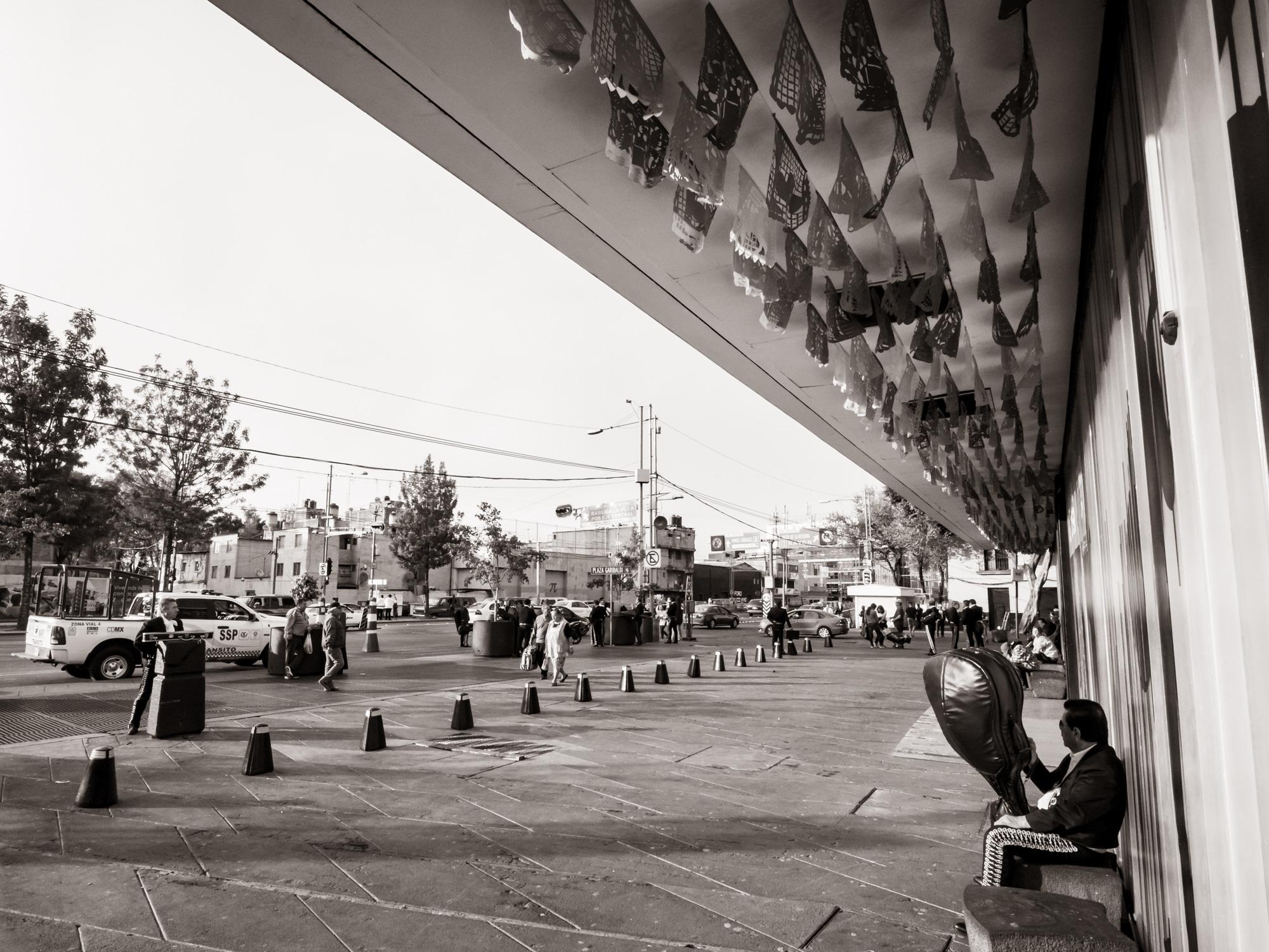 Les mariachis de la place Garibaldi