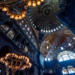 Carnet de voyage: L'intérieur de Hagia Sophia