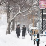 Il neige dans le Mile-End